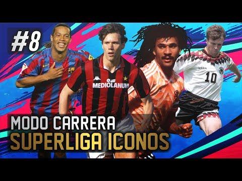 AJAX, BARÇA & BAYERN! PARTIDOS DE INFARTO! | FIFA 19 Modo Carrera: Superliga Iconos #8
