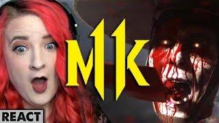 Mortal Kombat 11 Trailer | Girls react