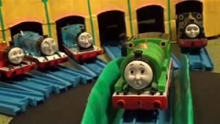 きかんしゃ トーマス 「ペンキやさん 洗車機をぬる」前編 Plarail Thomas and Friends