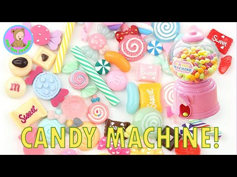 Candy Toy Dispenser - Cute Candies Machine   Cabochon Charms