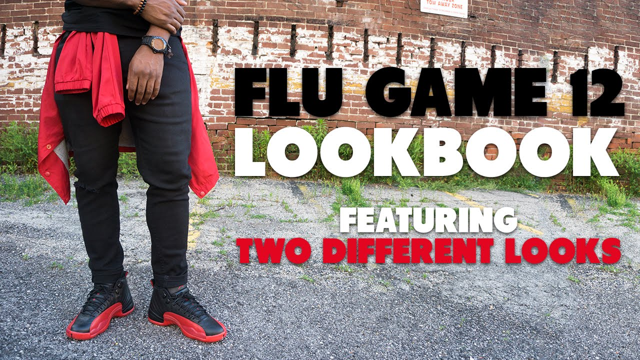59dfa08cd222 How To Wear Flu Game 12 s - Review + Lookbook (Two Looks) - YouTube
