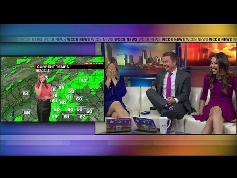 Kaitlin's Awkward On-Air Moment