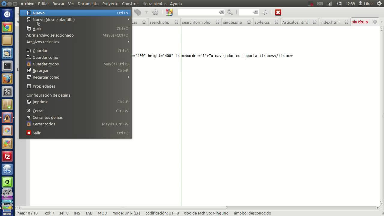 Los iframes en HTML - YouTube