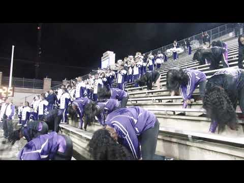 Bessemer City High School Marching Band | Playing ESPN | vs Park Crossing | In Montgomery | 2018 |