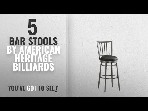 Top 10 American Heritage Billiards Bar Stools [2018]: American Heritage Billiards Easton Counter