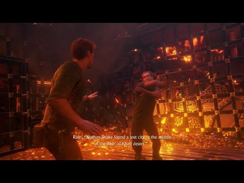 Uncharted 4 A Thief S End Brutal Death With Rafe Fight Youtube