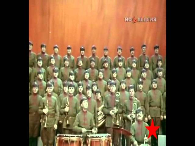 """We are the Red Cavalry       Lead us, Budyonny!"""" 