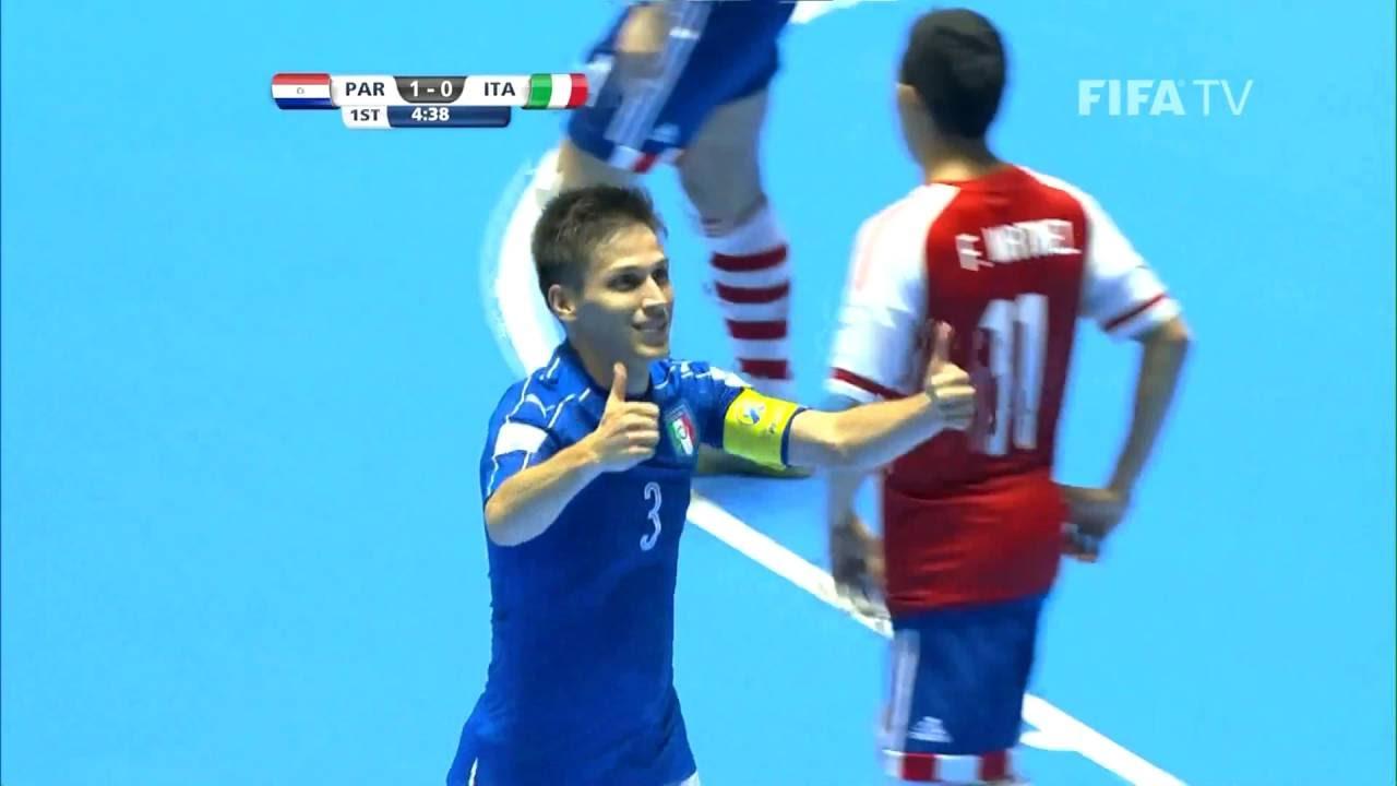 Video: Futsal Paraguay vs Futsal Italia