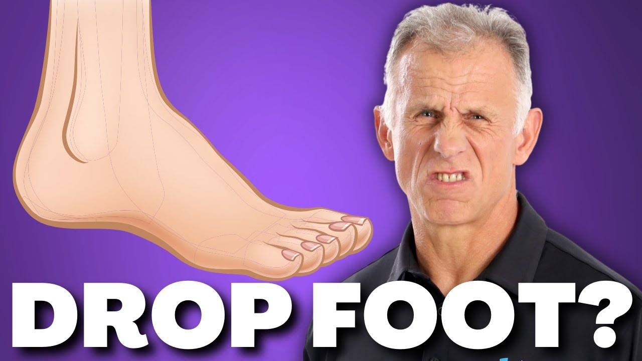 10 Exercises For Foot Drop After Stroke  Nerve  Or Muscle Damage  Weak Ankle  U0026 Foot