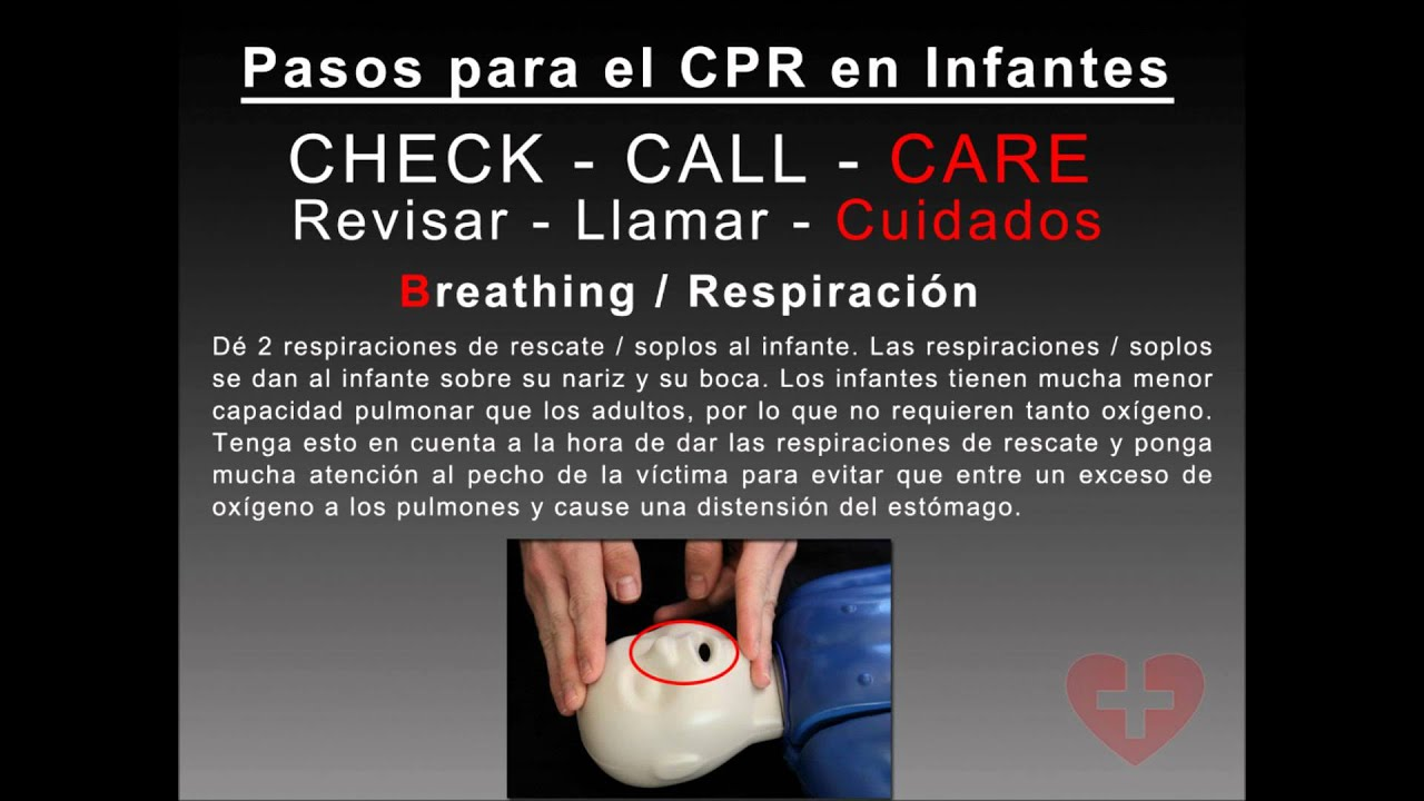 Spanish infant cpr 2010 guidelines training video following new spanish infant cpr 2010 guidelines training video following new cab method how to cpr video youtube 1betcityfo Gallery