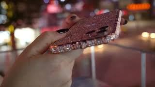 다이아몬드 프레임 전화…