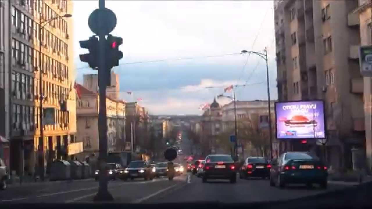 kneza milosa beograd mapa Ulica kneza Miloša   jedna od najprometnijih u Beogradu   YouTube kneza milosa beograd mapa