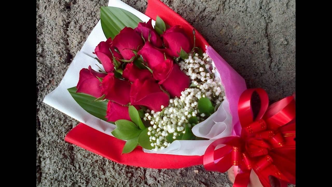 Rangkaian Bunga Mawar Cantik Berbagai Warna Youtube