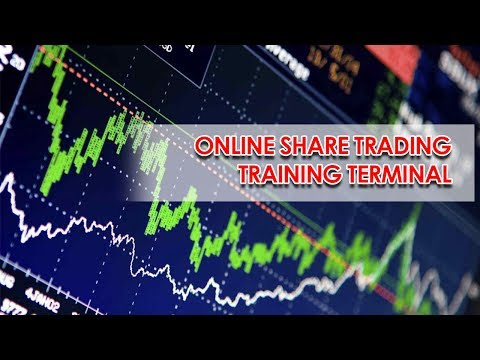 Online share trading training dummy terminal. | Virtual share trading terminal.