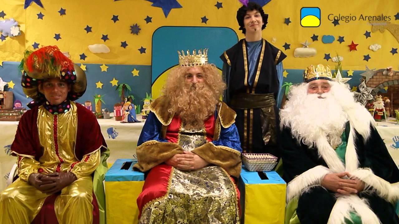 Mensaje de sus Majestades los Reyes Magos de Oriente para