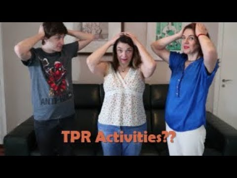 TPR Activities With Adults