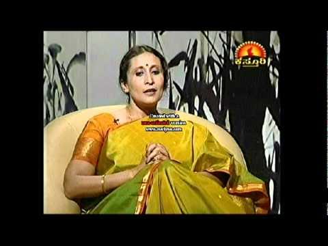 Vyjayanthi Kashi Interview by Kasthuri Tv channel.mpeg