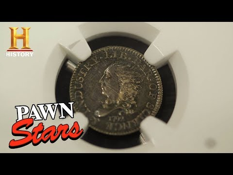 Pawn Stars: Half Disme Coin and Libertas Americana Medal (Season 15) | History