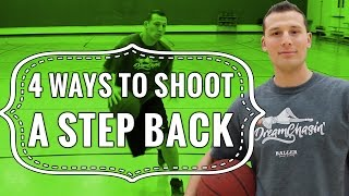 Basketball shooting tips: 4 ways to shoot a step back jumper