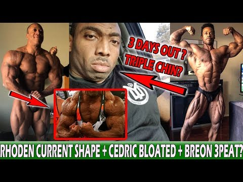 Cedric Looking Bloated 3 Days Out + Shawn Rhoden New Hotel Photo + Breon Looks Insane! + More!