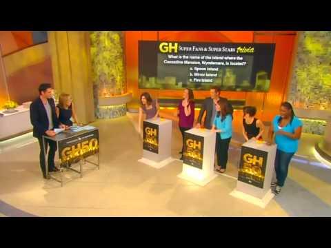 GH50 On KATIE CURIC! - Jason Thompson, Jack Wagner, Finola & Kelly Monaco Play TRIVIA! Part #5