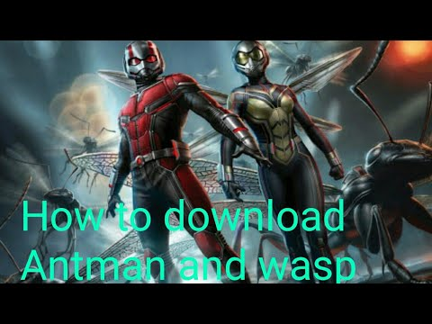 Download How to download Antman And Wasp full movie in HD