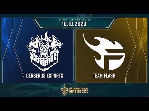 Cerberus Esports vs Team Flash | CES vs FL - Vòng 13 ngày 1 [10.10.2020] - ĐTDV mùa Đông 2020