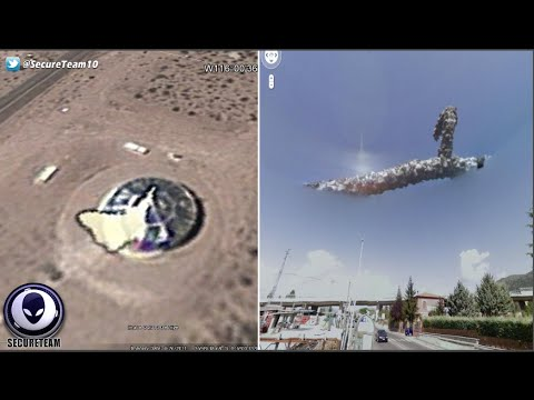 Google Earth UFO's, UnKnowns & Downright Strangeness