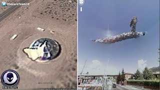 Google Earth UFOs, Unknowns & Downright Strangeness Revealed! 7/2/16