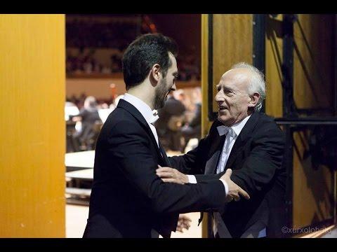 """Beethoven: Piano Concerto No. 5 """"Emperor"""" Op. 73 - Daniele & Maurizio Pollini - Sinfónica de Galicia"""