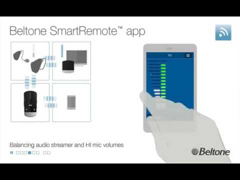 Beltone SmartRemote™ Hearing Aid App Overview