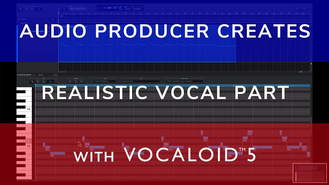 VOCALOID5 | Audio Producer Creates Realistic Digital Vocal Part