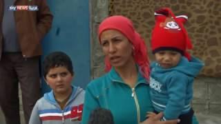لاجئون سوريون يتمنون