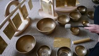 Поющие чаши. Тибетские чаши. Комплекты чаш.