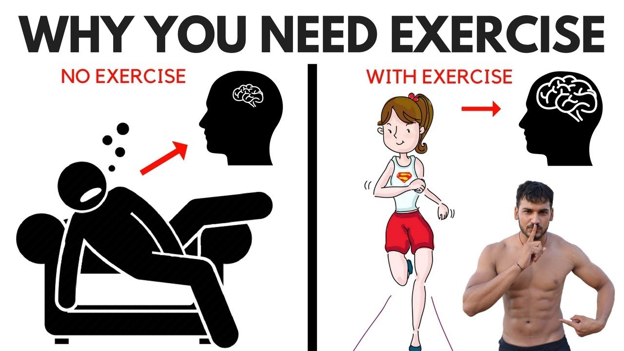 10 benefits of exercise on the brain and body why you need