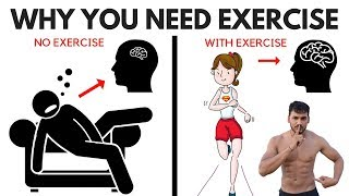 10 Benefits Of Exercise On The Brain And Body - Why You Need Exercise