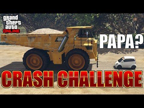 GTA 5 Online #2505 Crash Challenge mit XXL Fahrzeugen