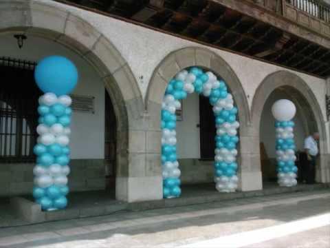 Decoraciones con globo youtube for Globo terraqueo decoracion