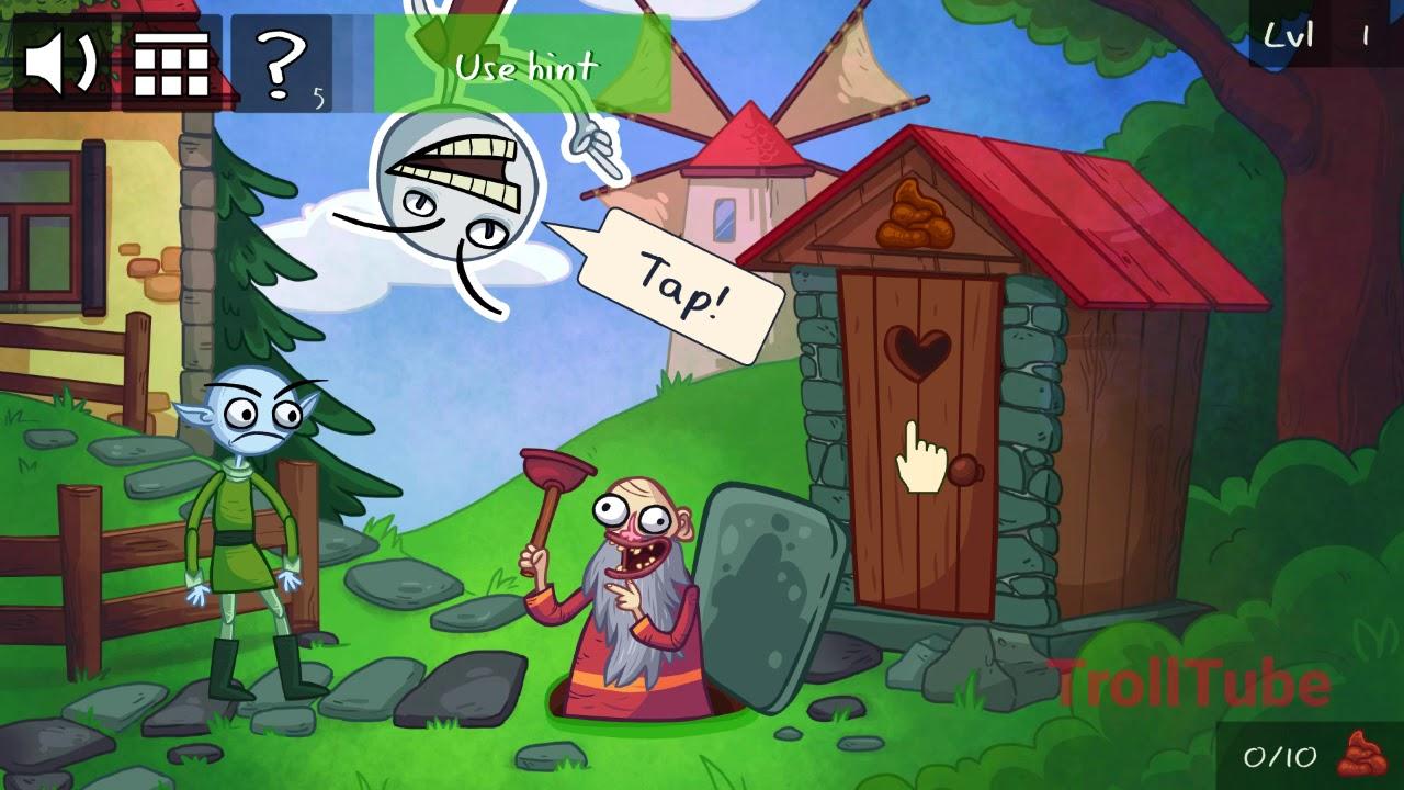maxresdefault troll face quest internet memes level 1 walkthrough youtube