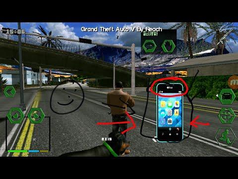 GTA V (SA) Game Play... with ifruit android device...