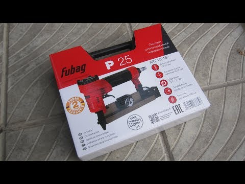 Микрошпилечник Fubag P25