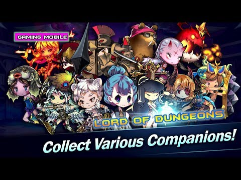 [Android/IOS] Lord Of Dungeons - English Version Gameplay