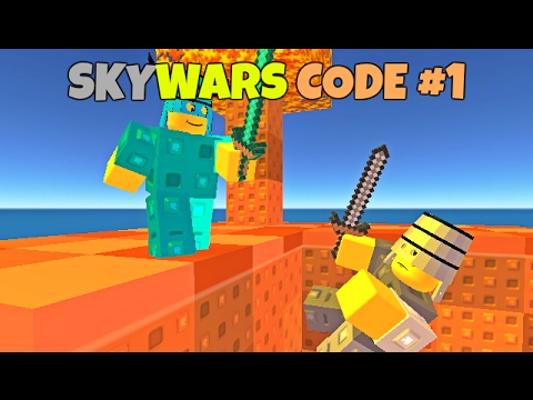 SKYWARS GAME CODE #1   INVISIBILITY POTION - YouTube