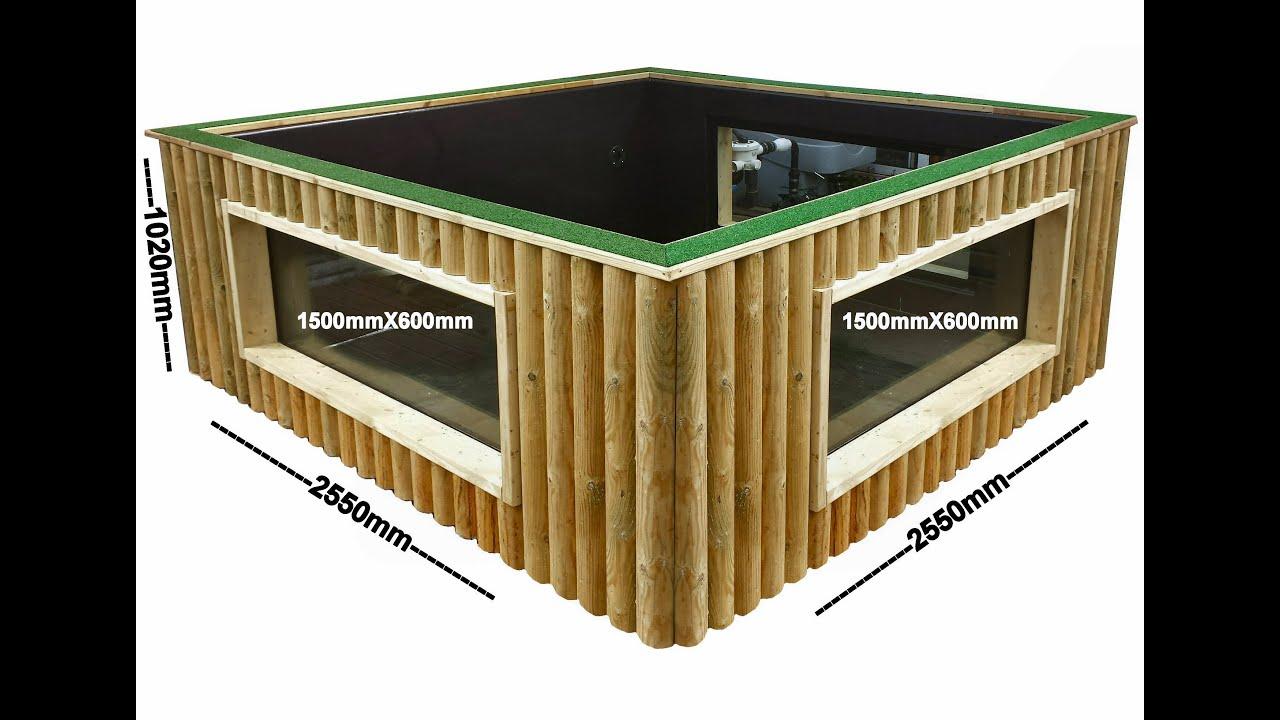 Raised wooden pond kits garden design ideas for Garden design kits