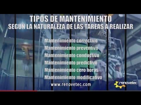 TIPOS DE MANTENIMIENTO