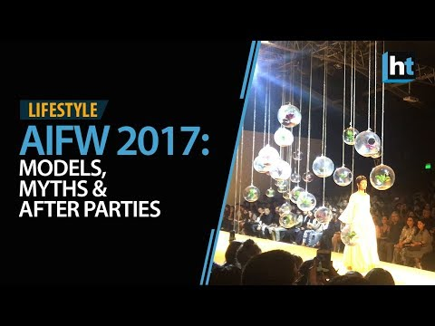 Amazon India Fashion Week: Models, Myths and After Parties
