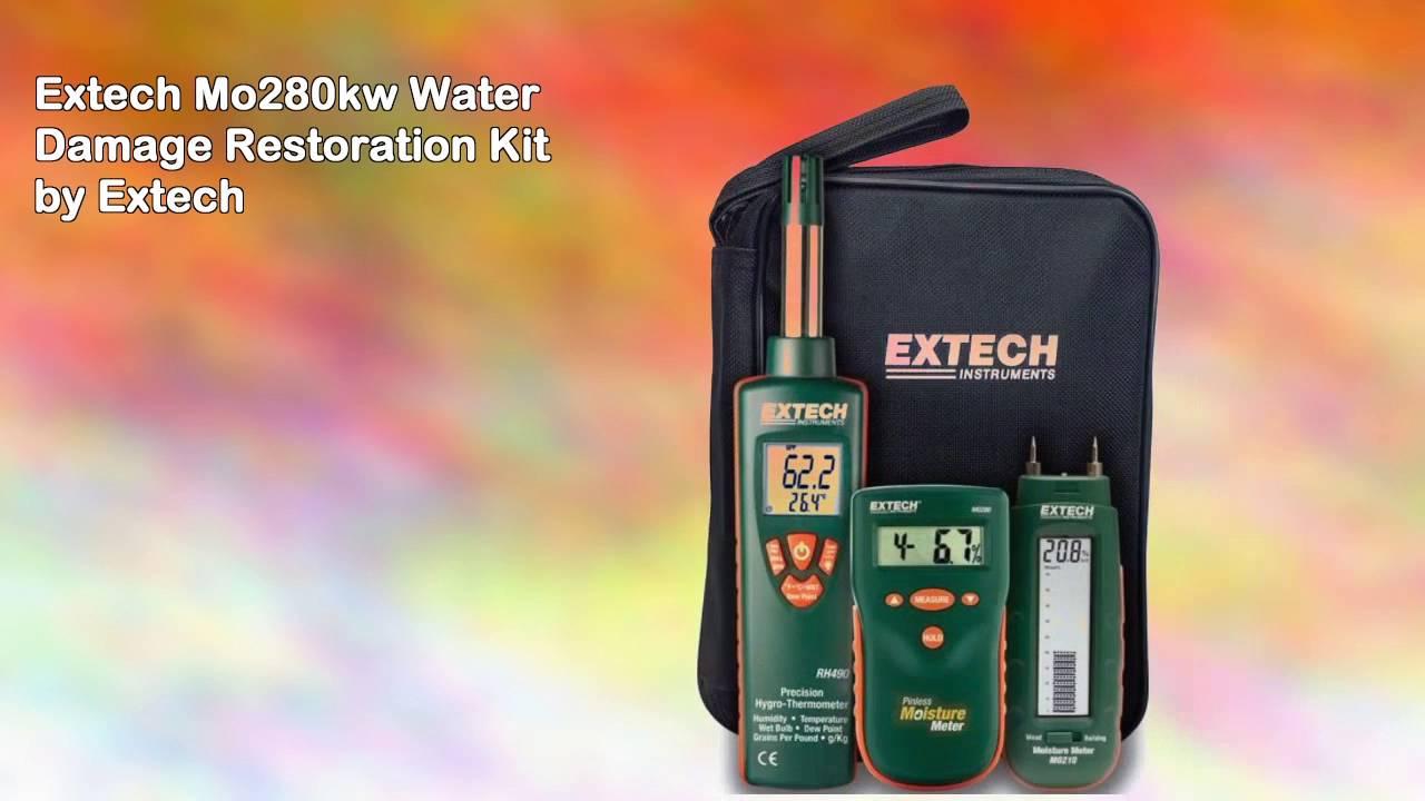 Extech MO280-KW Water Damage Restoration Kit