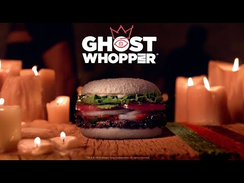 Hudson - Burger King debuts 'Ghost Whopper' with white, cheddar-infused buns
