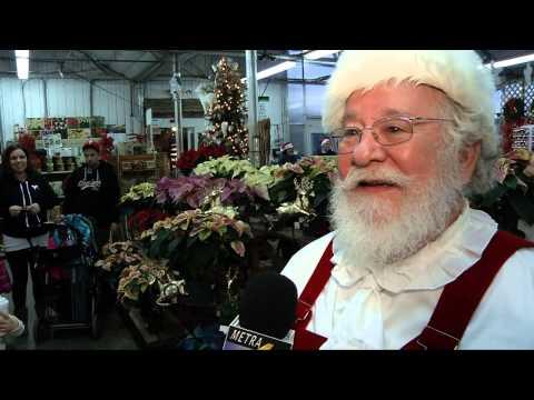 Santa  Choppers into Visit Shady Brook Farms in Bucks County Metra4.com