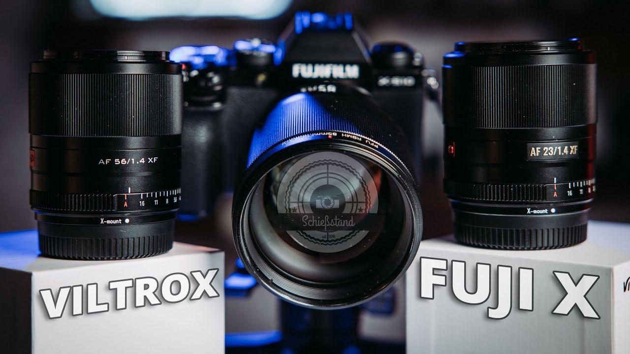 Gute Alternative oder verpasste Chance? - Viltrox Objektive für Fuji X im Review (23/56/85)
